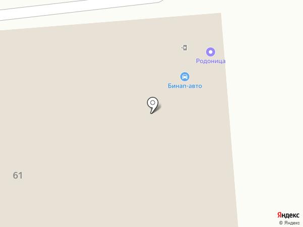 Бинап-Авто на карте Энгельса