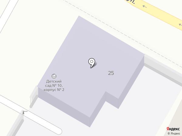 Детский сад №4 на карте Энгельса