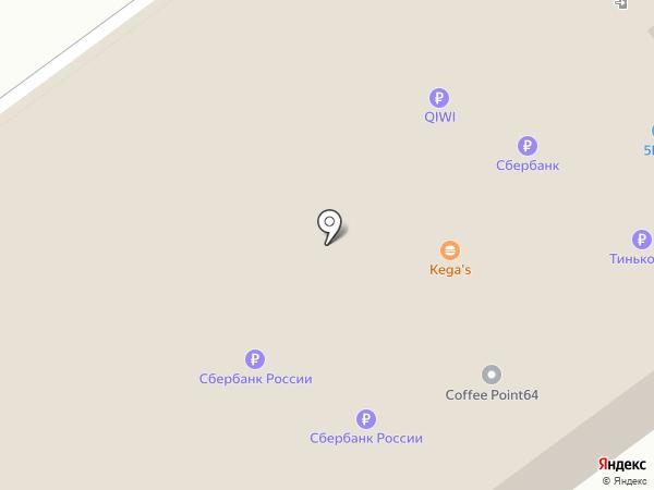 Банкомат, Поволжский банк Сбербанка России на карте Энгельса