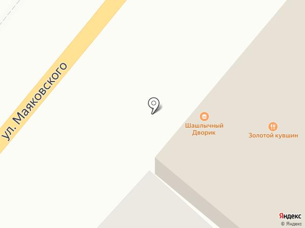 Золотой кувшин на карте Энгельса