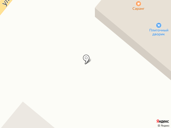 Плиточный дворик на карте Энгельса