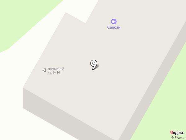 Евроокна Саратова на карте Энгельса