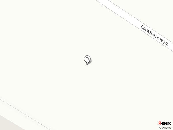 Стройпласт на карте Энгельса