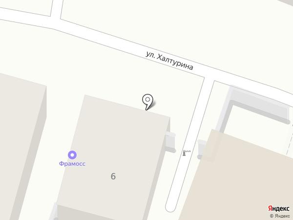 Фрамосс-Волга на карте Энгельса