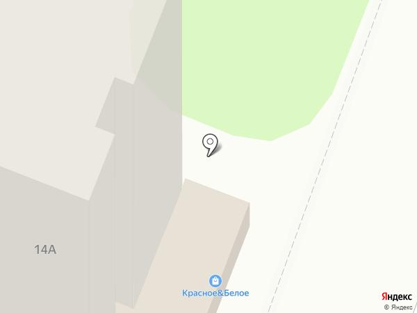 Красное & Белое на карте Энгельса