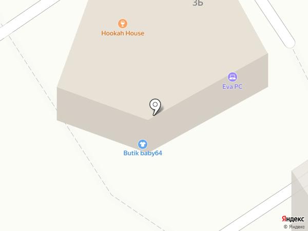Klever Lounge zone на карте Энгельса