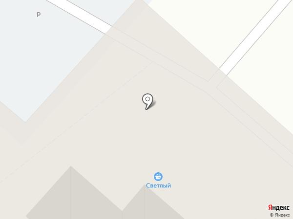 Светлый на карте Энгельса