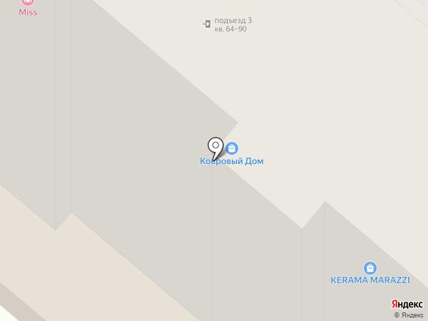 Кафельниковъ на карте Энгельса