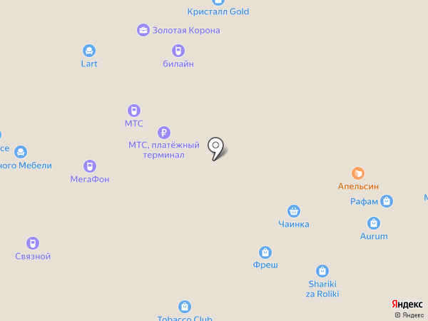 Trendy Head на карте Энгельса
