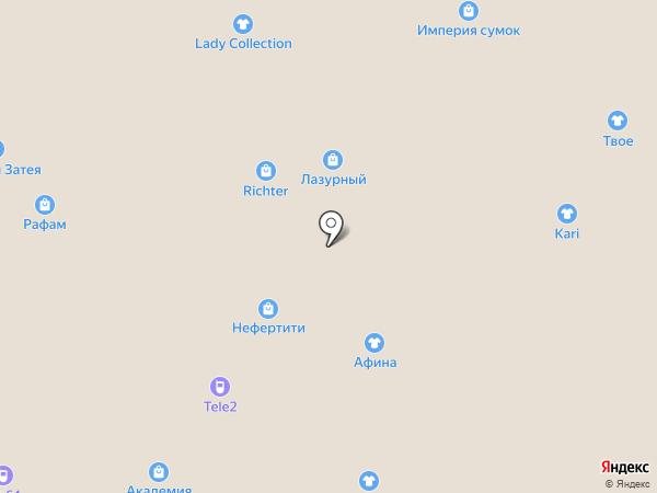 Афина на карте Энгельса