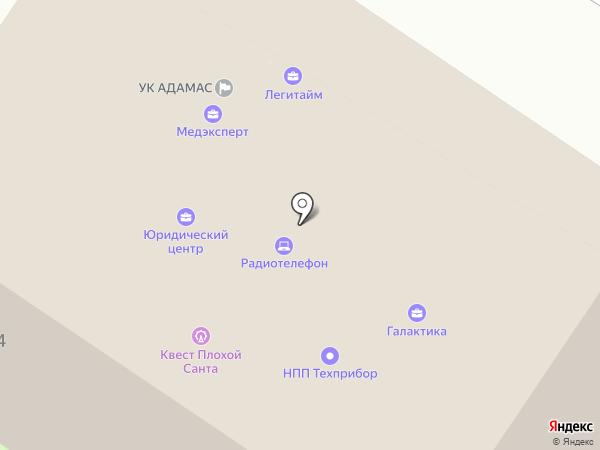 АКБ Экспресс-Волга на карте Энгельса