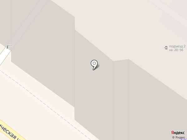 ЮЛК на карте Энгельса