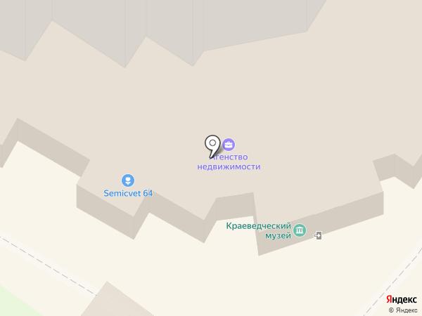 Энгельсский краеведческий музей на карте Энгельса