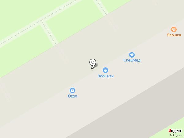Сеть магазинов дверей на карте Энгельса