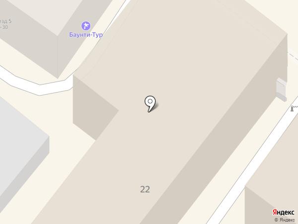 Альянс-Профи на карте Энгельса