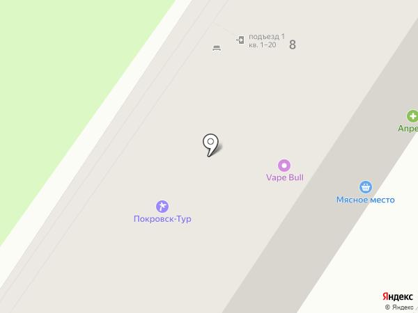 Петровский трикотаж на карте Энгельса