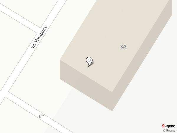 Пожтехстрой на карте Энгельса