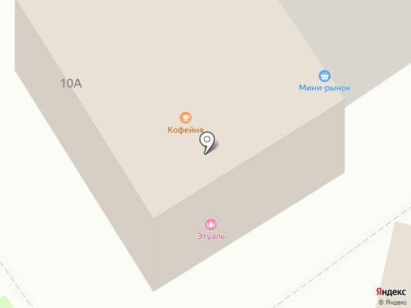 Этуаль на карте Энгельса