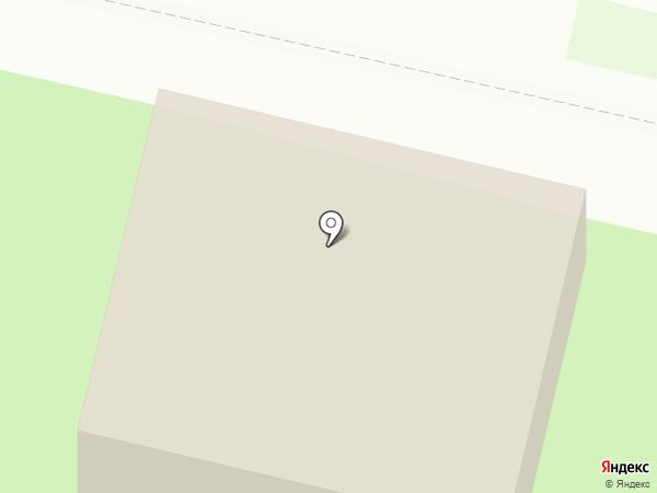 Волжский берег на карте Энгельса