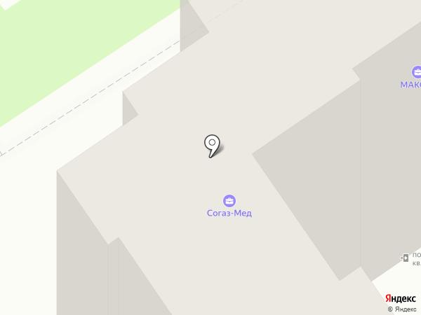 Гольфстрим тур на карте Энгельса