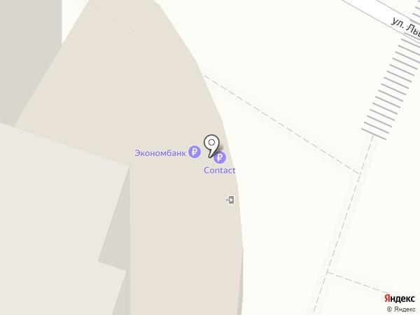 Банкомат, Экономбанк, ЗАО на карте Энгельса