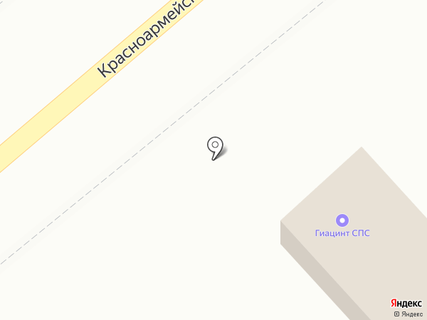 СПС Гиацинт на карте Энгельса