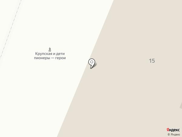 Дворец творчества детей и молодежи на карте Энгельса