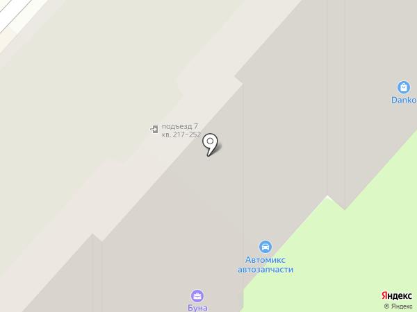 Провод`ок на карте Энгельса