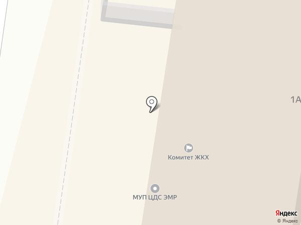 Акварель на карте Энгельса