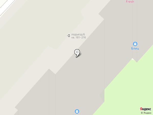 Аптека от склада на карте Энгельса