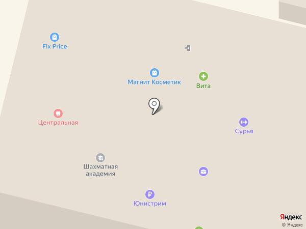 Волжская ТГК на карте Энгельса