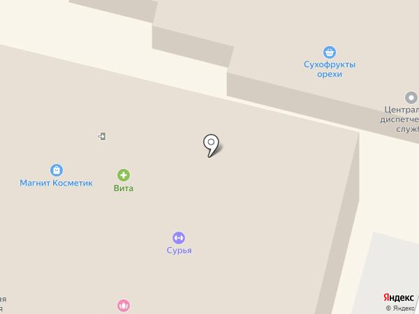 Росток на карте Энгельса