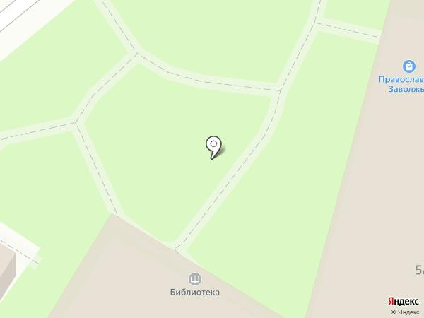 Библиотека на карте Энгельса