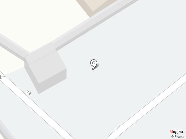 Автостоянка на Ростовской на карте Энгельса