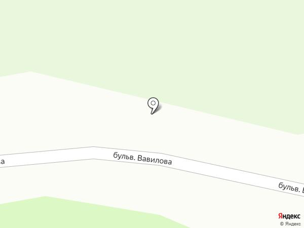 Семейный на карте Новопушкинского