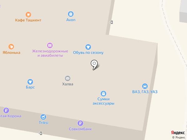 Павлин на карте Энгельса