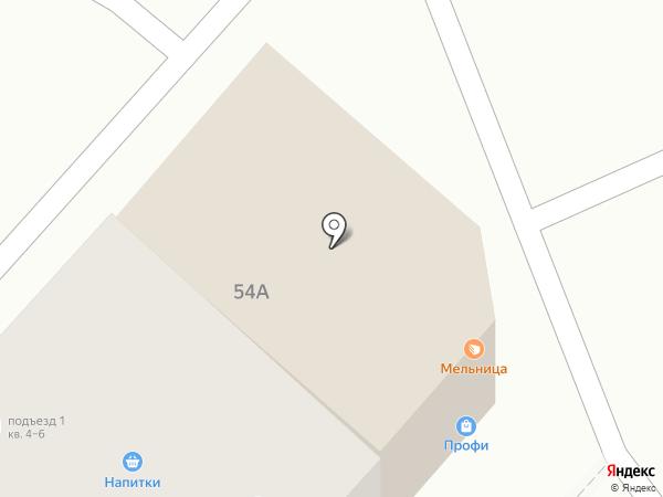 Мельница на карте Энгельса