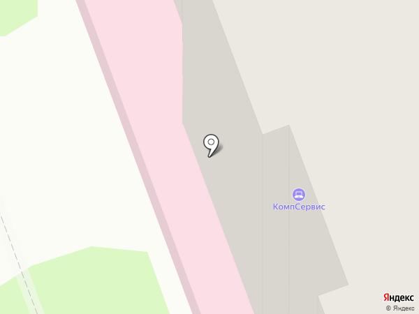 Городская поликлиника №3 на карте Энгельса