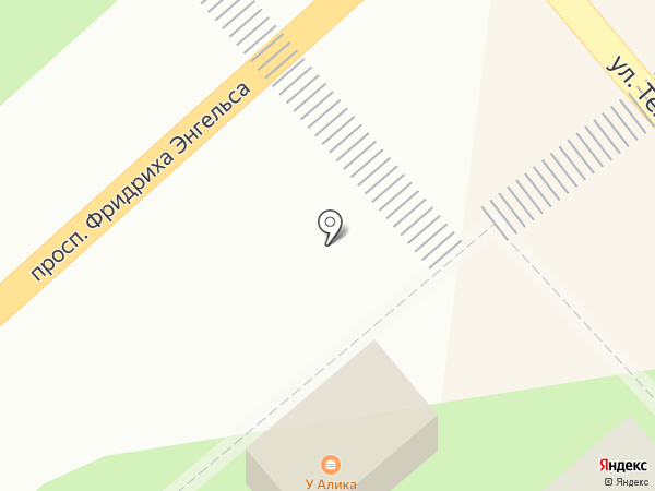 У Али на карте Энгельса