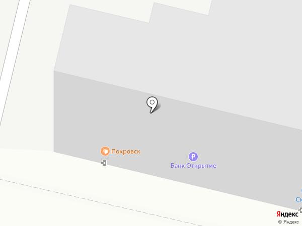 Покровск, ЗАО на карте Энгельса
