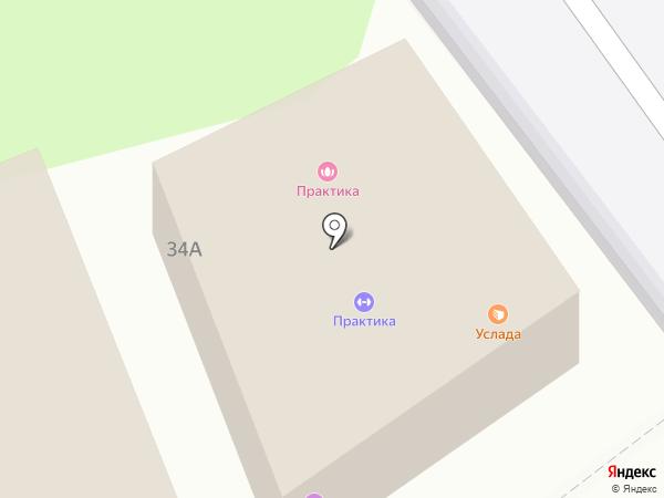 Юничел на карте Энгельса