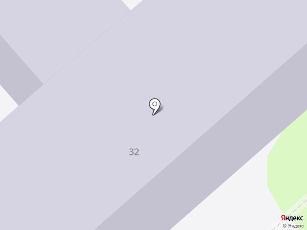 Средняя общеобразовательная школа №18 на карте Энгельса