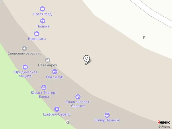 Пенсионный, КПК на карте Энгельса