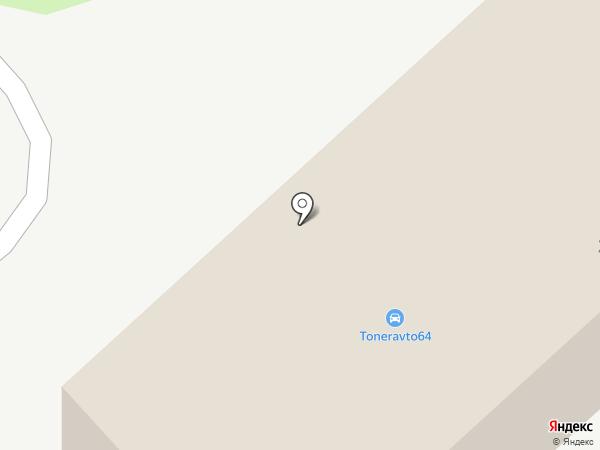 Энгельсстрой на карте Энгельса