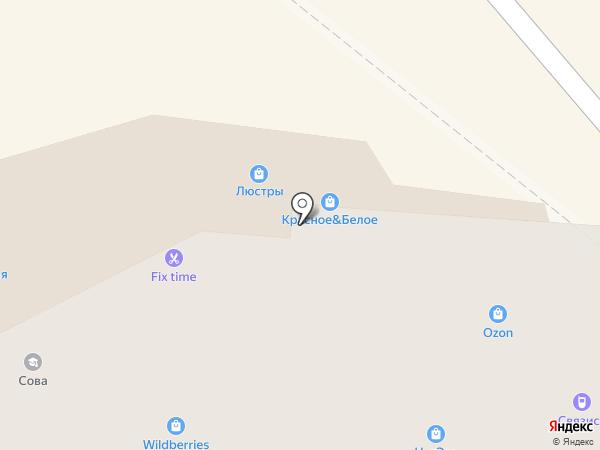 Связист-Тур на карте Энгельса