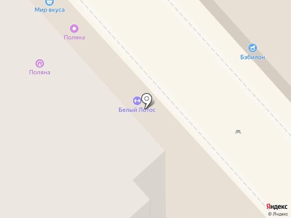 Поляна на карте Энгельса
