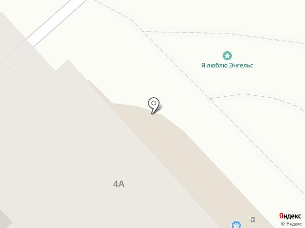 Киберплат на карте Энгельса