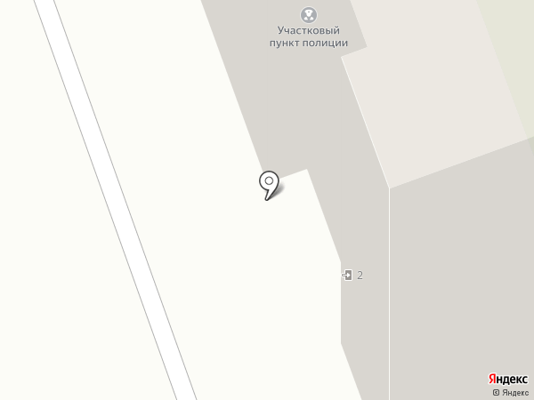 Участковый пункт полиции №12 на карте Энгельса