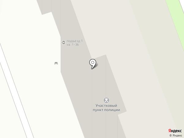 Участковый пункт полиции №12, Отдел полиции №3 на карте Энгельса