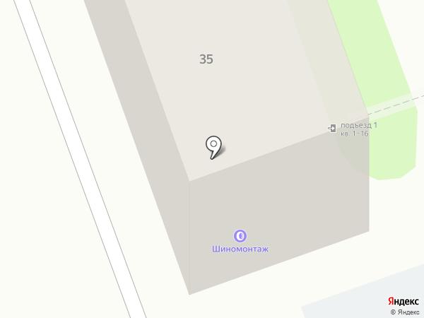 Авто-Штамп на карте Энгельса
